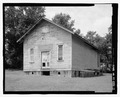 RIGHT ELEVATION - Cadentown Rosenwald School, Caden Lane, Lexington, Fayette County, KY HABS KY-288-7.tif