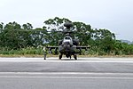 ROCA AH-64E 802 Warming up at Hongchailin Camp 20161224a.jpg