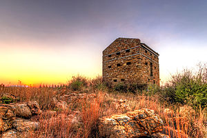 Vereeniging - The blockhouse in Vereeniging built by the British during the Second Boer War.
