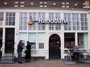 Rabobank - Branch of Rabobank in Amsterdam
