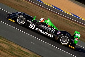Radical Sportscars - Rollcentre Racing's Radical SR9 at the 2006 24 Hours of Le Mans.