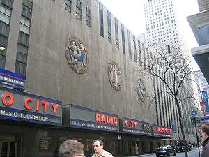 Hildreth Meiere - Image: Radio City Music Hall ext 2003