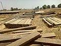 Rail wood piles Kafanchan 01.jpg