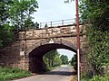 Railway bridge, Ollerton - geograph.org.uk - 463174.jpg