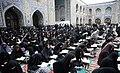 Ramadan 1439 AH, Qur'an reading at Goharshad Mosque, Mashhad - 29 May 2018 07.jpg