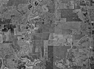 Aerial photograph of the Ramsey Units, January 23, 1995, United States Geological Survey