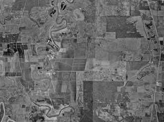 Stringfellow Unit - Aerial photograph of the Ramsey Units, January 23, 1995, United States Geological Survey
