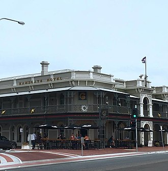 Showdown (AFL) - The Ramsgate Hotel was the location of an altercation between the two sides in 2002.