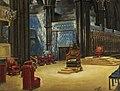 Ranken, William Bruce Ellis; Interior of Westminster Abbey, Arranged for the Coronation, 1937.jpg
