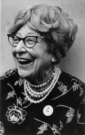 Jeannette Rankin - Rankin in 1973