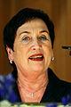 Rannveig Gudmundsdottir haller tal efter det att hon valts till ny president i Nordiska radet.jpg