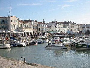 Saint-Martin-de-Ré - The quays