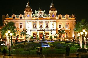 "the ""real"" Monte Carlo Casino - France."