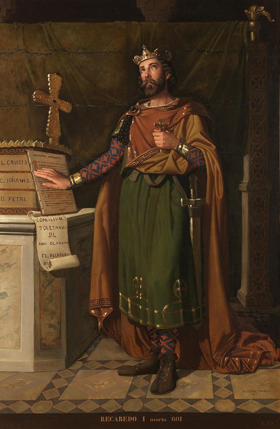 Recaredo I, rey de los Visigodos (Museo del Prado)