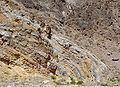 Recombent fold in Titus Canyon.JPG