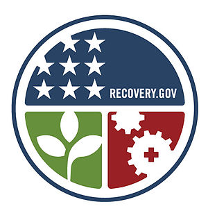 American Recovery and Reinvestment Act of 2009 - Official seal of Recovery.gov, the official site of the American Recovery and Reinvestment Act of 2009.