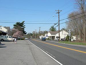 Red Oaks Mill, New York - Vassar Road at Red Oaks Mill