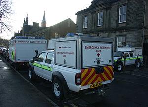 British Red Cross - British Red Cross ESU and ERU in Inverness