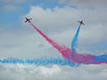 Red arrows display at Farnborough 2008.jpg