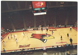 Illinois State Redbirds - Image: Redbird Arena