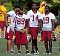 Redskins wreceivers training2011.jpg