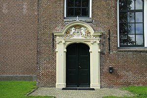Reduzum - St Vincent's Church gate