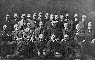 New Zealand Reform Party - The Reform Party Caucus, 1909.