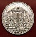 Reinier arondeaux, medaglia per la pace di rijswijck, 1697, tempio di giano.jpg