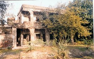 Bakkhali - Remains of the house of Sir Andrew Fraser, Lieutenant Governor of Bengal (1903 -1908) (1903 -1908), at Frasergunj