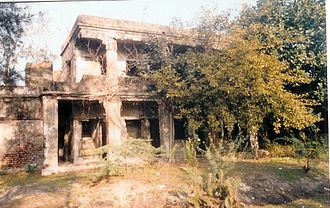 Bakkhali - Remains of the house of Sir Andrew Fraser, Lieutenant Governor of Bengal (1903 -1908) (1903 -1908), at Frasergunj