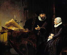 Rembrandt - The Mennonite Preacher Anslo and his Wife - Google Art Project.jpg