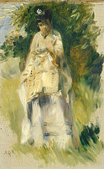 Renoir Woman Standing by a Tree.jpg