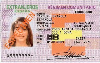 Residence card of a family member of a Union citizen