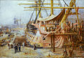 Restoring HMS Victory, by William Lionel Wyllie.jpg