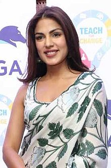 Rhea Chakraborty at Pega Teach For Change event (08) (cropped).jpg