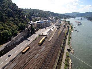 Koblenz-Ehrenbreitstein station railway station in Koblenz, Germany