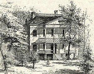Thomas Hickey (soldier) - Richmond Hill (built ca. 1760, demolished 1849).