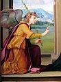 Ridolfo del ghirlandaio, annunciazione, 1515 ca, da pieve di s. pietro a pitiana (reggello) 03.JPG