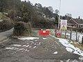 Rifle range entrance at Bwlch-y-Rhiw - geograph.org.uk - 1722867.jpg