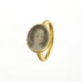 Ring med Hedvig Sofia, från 1690 cirka - Livrustkammaren - 97906.tif