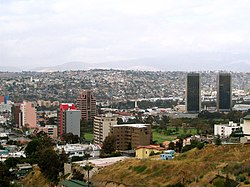 Zona Río, the main business district