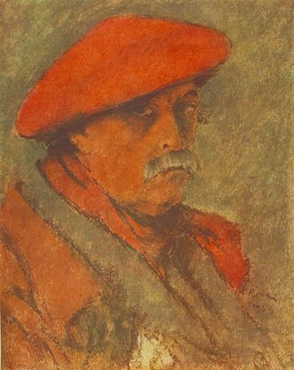 József Rippl-Rónai - Self portrait (1924), Hungarian National Gallery, Budapest.