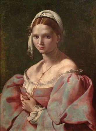 Giuliano Bugiardini - Portrait of a young woman