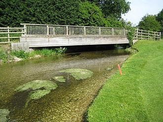 Buckinghamshire Golf Club - River Misbourne running through the course