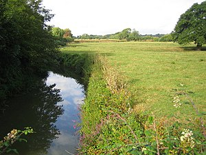 Sidlow - Image: River Mole from Sidlow Bridge geograph.org.uk 230469