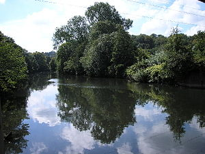 River Taff - Part of the River Taff, running through Cardiff