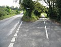 Road junction on Chartham Downs Road - geograph.org.uk - 569914.jpg