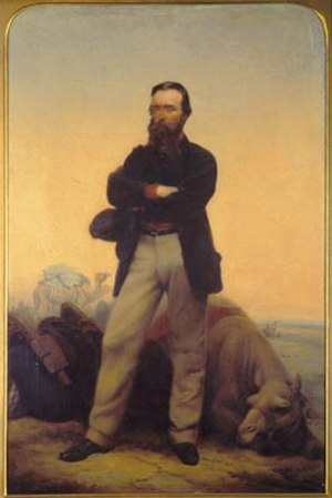 Burke and Wills expedition - Robert O'Hara Burke by William Strutt