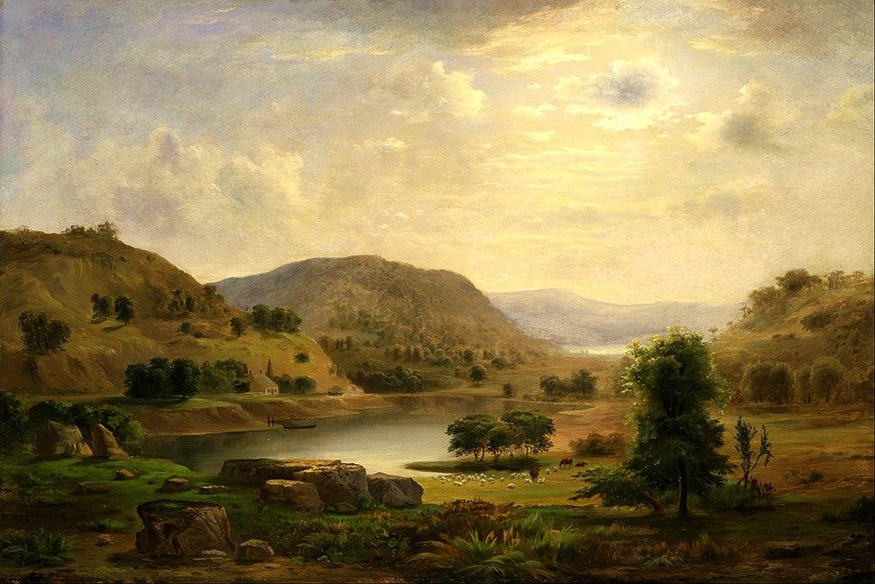 Robert S. Duncanson - Valley Pasture - Google Art Project