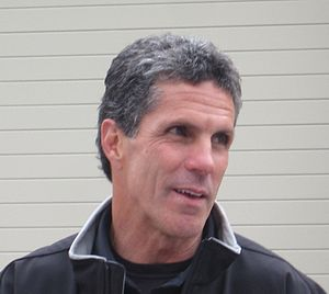 Roberto Guerrero - Guerrero at the Indianapolis Motor Speedway in May 2010.